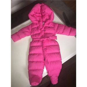 🍼💕 Pink Infant Polo Ralph Lauren Snowsuit
